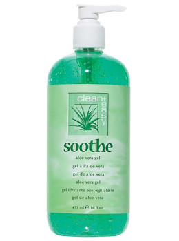 Clean+Easy Soothe Aloe Vera Gel - 16 OZ