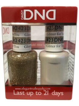 DND Gel Polish GLITTER FOR YOU