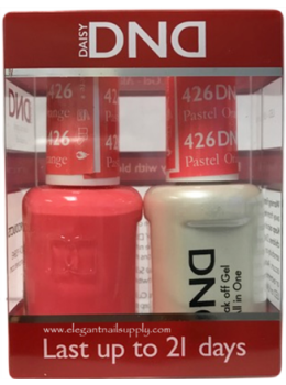 DND Gel Polish PASTEL ORANGE