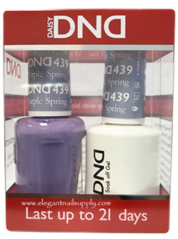 DND Gel Polish PURPLE SPRING