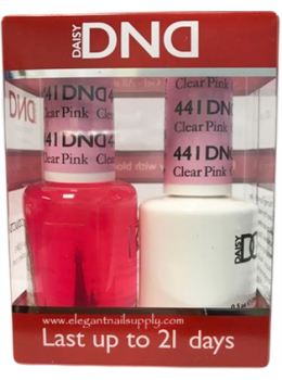 DND Gel Polish CLEAR PINK