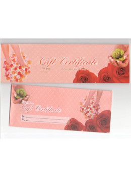 Gift Certificate With Envelop