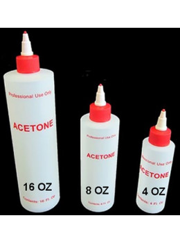 Acetone Plastic Bottle
