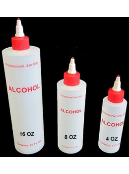 Alcohol Plastic Bottle