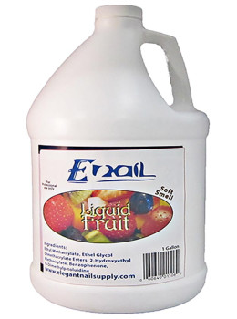 E-Nail Fruit Liquid ( LOW SMELL )