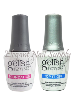 Gelish Foundation Base & Top Sealer  - DUO SETS
