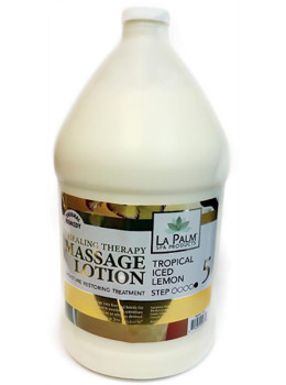 La Palm - Tropical Iced Lemon Healing Massage Lotion