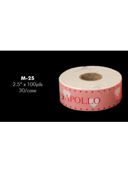 Apollo Bleached Muslin Roll 2.5 x 100yds