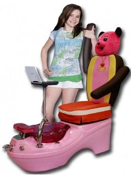 Kid Pedicure Chair - Mini Spa Shoe ModelChair
