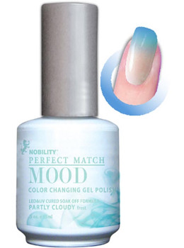 LeChat Mood Changing Gel Color - Partly Cloudy MPMG02