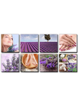 Canvas Mural LAVENDER FIELDS