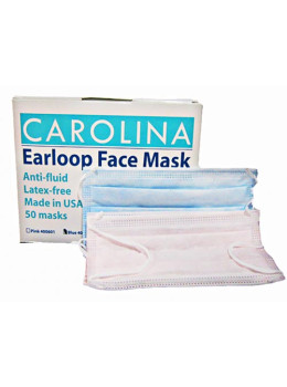 Carolina Earloop Face Mask