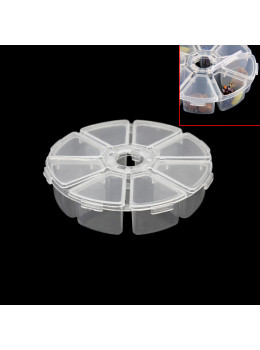 Plastic Pill Box 7 Compartment