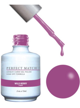LeChat Perfect Match Gel Polish DUO SETS - Wild Berry PMS131