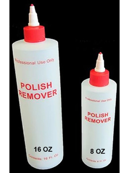 Polish Remover Plastic Bottle
