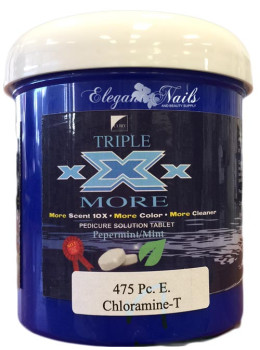 Triple XXX ECONOMY Pedi Spa Tablets - 475CT