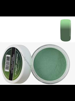 Glam and Glits Mood Effect Acrylic Powder GREEN LIGHT, GO!