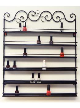 Wall Nail Polish Rack Display Metal