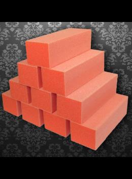 Dixon Regular Nail Buffer Orange White 80/100 Grit