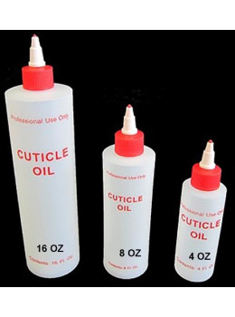 Cuticle Oil Plastic Bottle