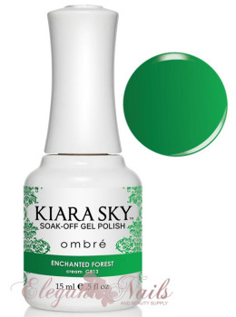 Kiara Sky Ombre Color Changing Gel Polish ENCHANTED FOREST - G813