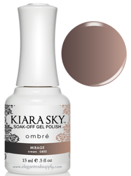 Kiara Sky Ombre Color Changing Gel Polish  MIRAGE - G832