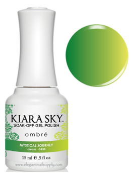 Kiara Sky Ombre Color Changing Gel Polish  MYSTICAL JOURNEY - G833