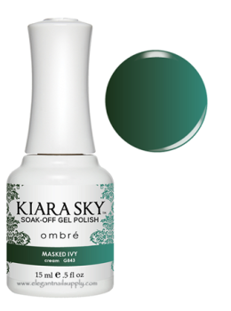 Kiara Sky Ombre Color Changing Gel Polish  MASKED IVY - G843