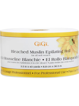 GiGi - Bleached Muslin Epilating Roll (3.5 in x 40 Yards # 0650)