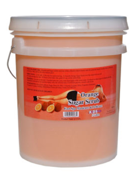 KDS Orange Sugar Scrub Bucket / 5 Gallon