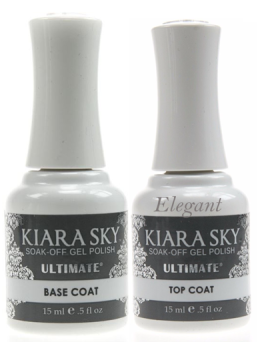 Kiara Sky Ultimate Gel BASE & TOP DUO Set