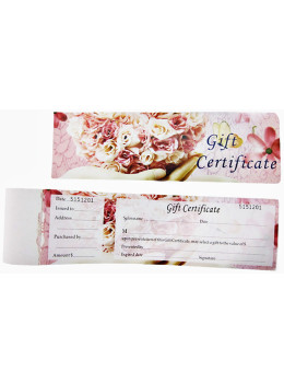 """Kuang Lung Gift Certificate """"G"""""""