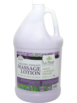 La Palm - Sweet Lavender Dreams Healing Massage Lotion