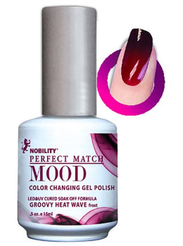 LeChat Mood Changing Gel Color - Groovy Heat Wave MPMG01