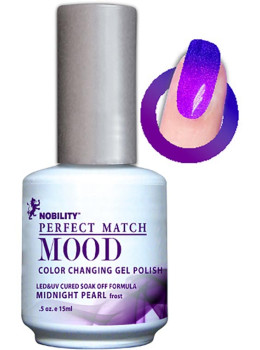 LeChat Mood Changing Gel Color - Midnight Pearl MPMG07