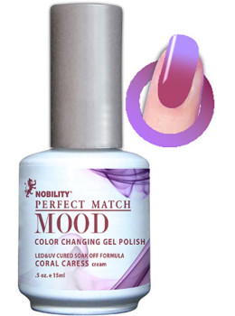 LeChat Mood Changing Gel Color - Coral Caress MPMG11