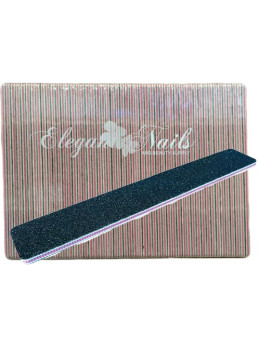 Jumbo Black/Pink Center Nail File - Pack/50 PCS