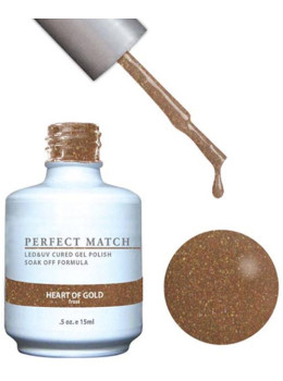 LeChat Perfect Match Gel Polish DUO SETS -  Heart Of Gold PMS123