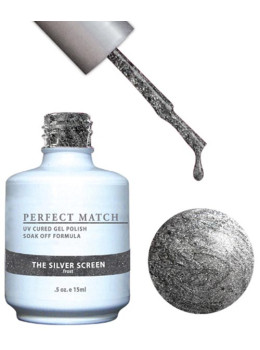 LeChat Perfect Match Gel Polish DUO SETS  - The Silver Screen PMS80