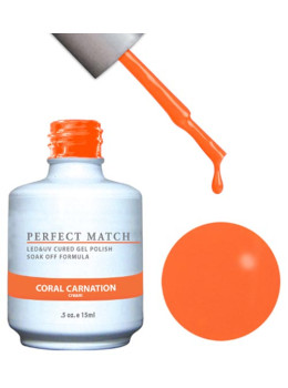 LeChat Perfect Match Gel Polish DUO SETS - Coral Carnation PMS97