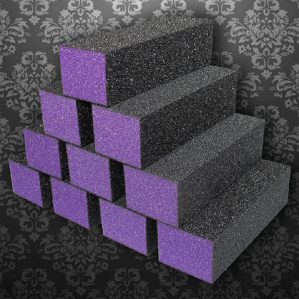 Dixon Regular Nail Buffer Purple Black