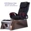 Z430 Chair Leather Color Black_Base Color Cold Silver/cafe Latte