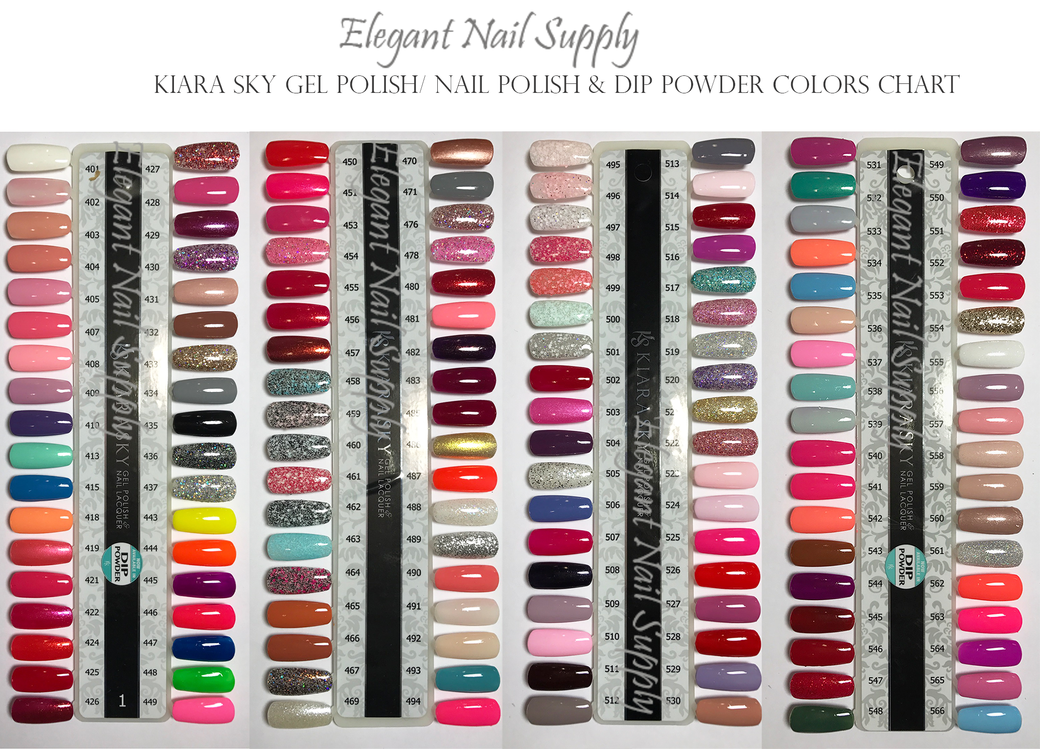 Kiara Sky Gel Polish - DUO SET