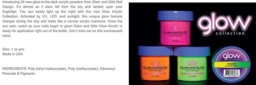 Glam and Glits Powder Glow Acrylic Powder