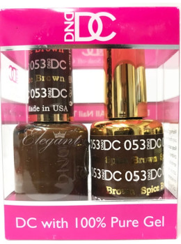 DC Gel Polish SPICED BROWN - 053