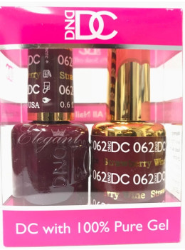 DC Gel Polish STRAWBERRY WINE - 062