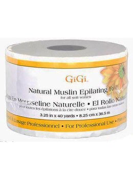 "GiGi - Natural Muslin Roll (3.25"" x 40yd # 0620)"
