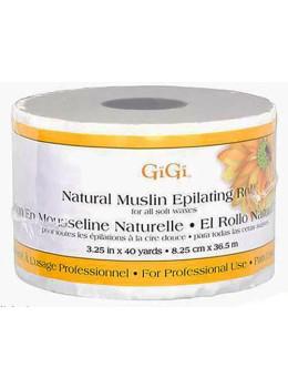 """GiGi - Natural Muslin Roll (3.25"""" x 40yd # 0620)"""