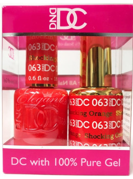 DC Gel Polish SHOCKING ORANGE - 063