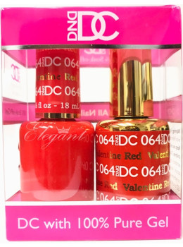 DC Gel Polish VALENTINE RED - 064
